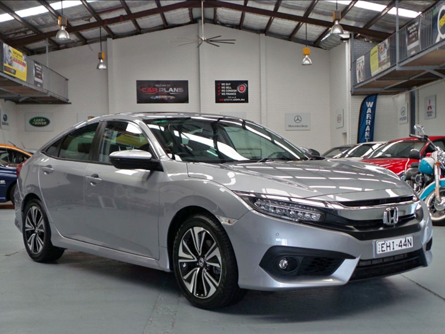 2018 Honda Civic VTi-LX Auto MY18